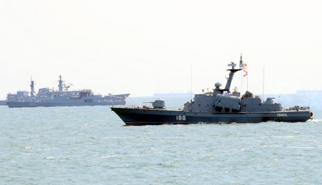 Foto: Forţele Navale Române, moment festiv la 140 de ani de la victoria împotriva otomanilor