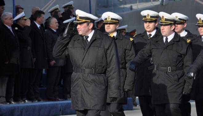 Foto: Forțele Navale Române participă cu 100 de militari la Bobotează