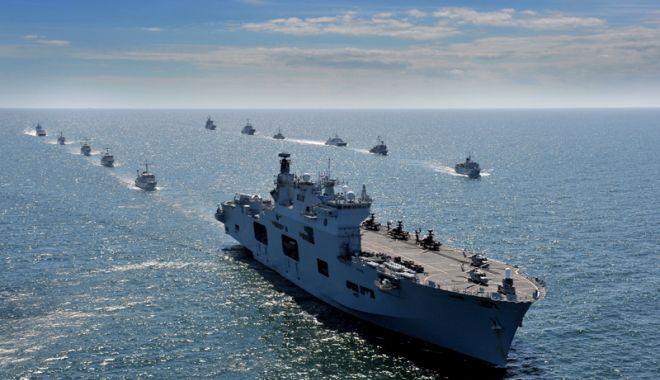 Foto: Forţele Navale participă  la cel mai mare exerciţiu din nordul Europei