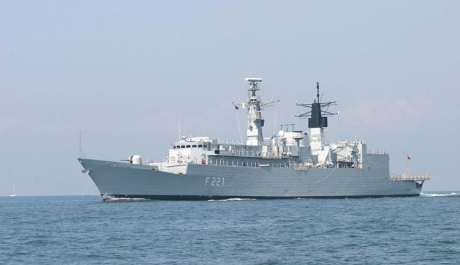 Foto: Forţele Navale Române şi Ucrainene  discuţii despre securitatea în bazinul Mării Negre