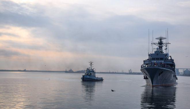 Foto: Forțele Navale Române, la comanda grupării navale permanente a NATO de luptă contra minelor