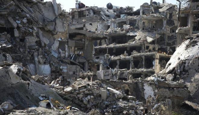 Foto: Forțele turce continuă să bombardeze  pozițiile milițiilor kurde din nordul Siriei