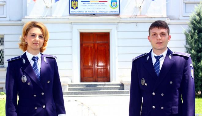 Forțe proaspete în Poliția Constanța. O tânără polițistă va investiga fraudele - forteproaspeteinpolitiaconstanta-1406741471.jpg