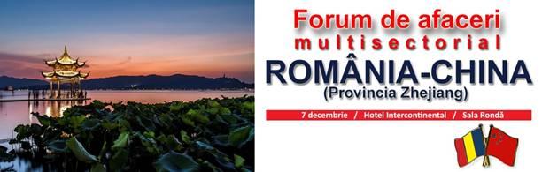 Foto: Forumul de afaceri şi Investiţii România-Zhejiang, China