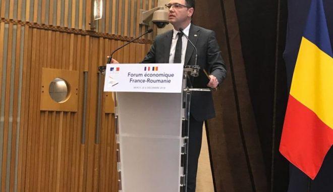 Foto: Forumul economic Franța-România, de la Paris
