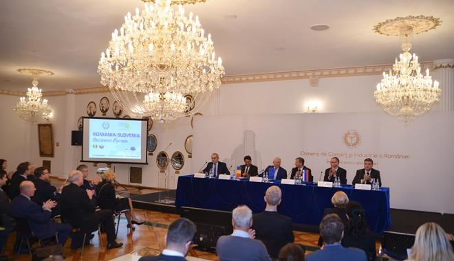 Foto: Forumul România – Slovenia, la Camera de Comerţ şi Industrie a României