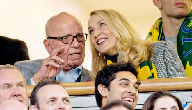 Foto: Fosta iubită a lui Mick Jagger,  logodnă cu mogulul Rupert Murdoch
