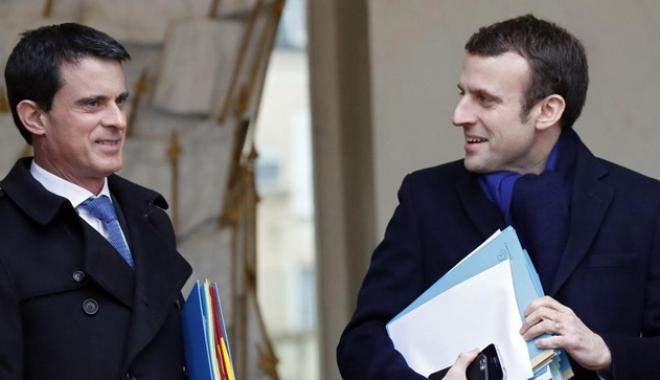 Foto: Fostul premier Valls anunţă că va candida la parlamentare din partea mişcării lui Macron