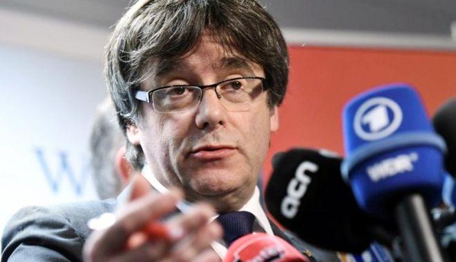 Foto: Fostul lider catalan Carles Puigdemont ar putea fi extrădat în Spania