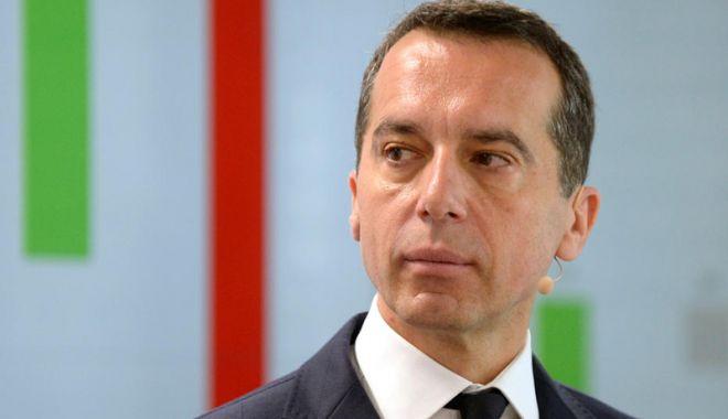 Foto: Fostul cancelar austriac  Christian Kern renunţă  la viaţa politică