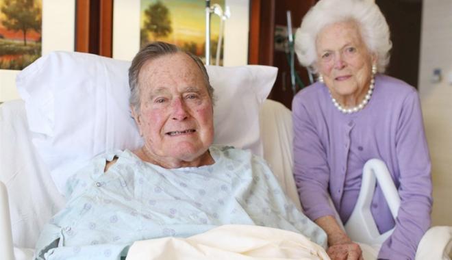 Foto: Fostul preşedinte american George Bush, grav bolnav