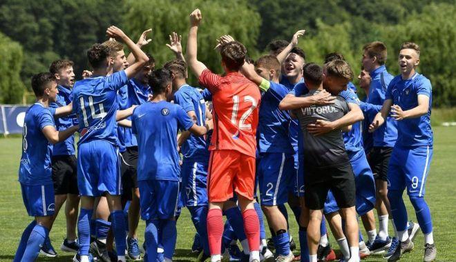 """Foto: Academia Hagi U17, debut la """"Puskas Suzuki Cup 2019"""""""