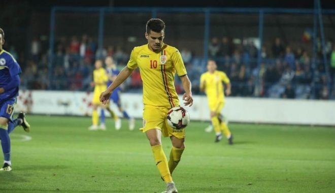 Foto: Ianis Hagi, meci bun pentru Naţională, în deplasarea din Malta