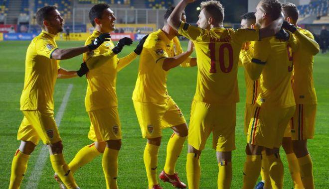 """Foto: Burleanu: """"Ne dorim cel puţin 4 puncte din dubla cu Suedia şi Insulele Feroe"""""""