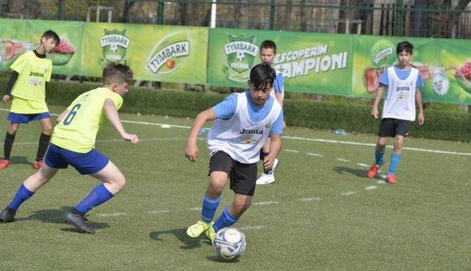Foto: Cei mai talentaţi mici fotbalişti vor juca în turneul final de la Cumpăna