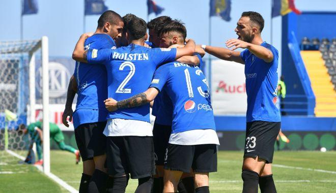 Foto: FC Viitorul, victorie la pas în partida cu Academica