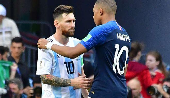 Foto: Lionel Messi şi Kylian Mbappe, în luptă direct pentru Gheata de Aur