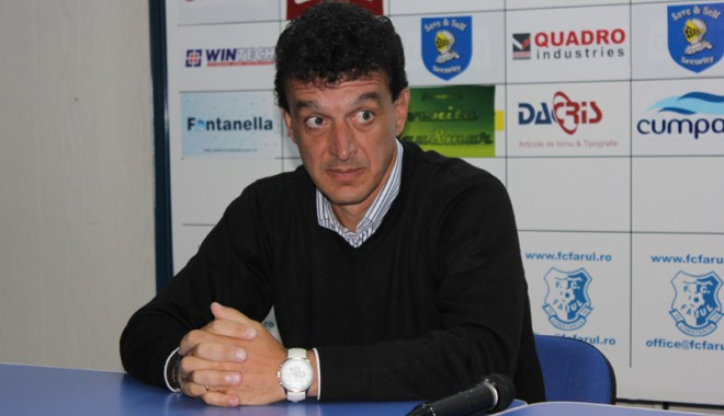 Foto: Antrenorul FC Farul, Alin Artimon, ar putea fi drastic pedepsit