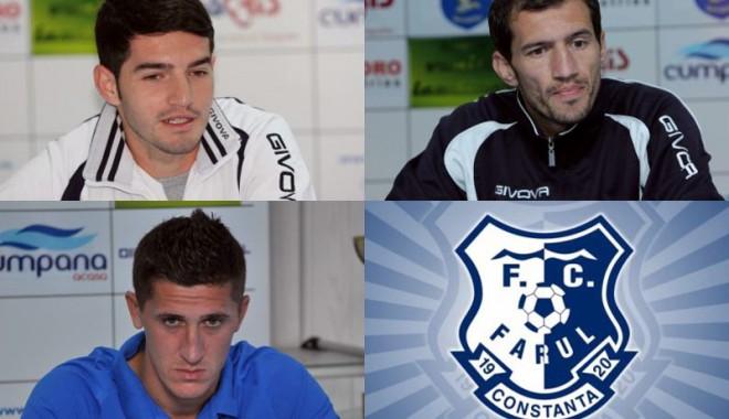 FC Farul a exclus din lot patru jucători