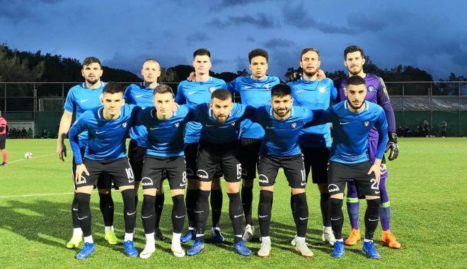 Foto: Victorie pentru FC Viitorul Constanţa, în primul amical al anului