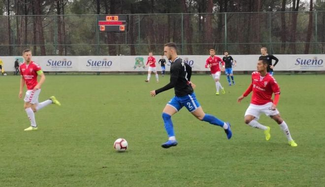 Foto: Înfrângere pentru FC Viitorul, în amicalul cu Vejle
