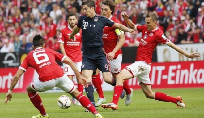 Foto: Victorie la scor pentru Bayern Munchen, în faţa lui Mainz