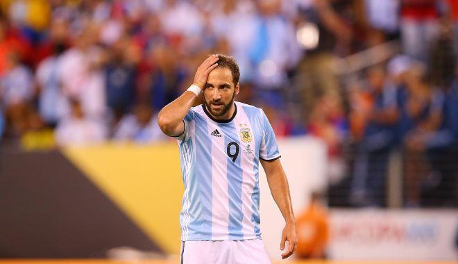 Foto: Gonzalo Higuain s-a retras din naţionala Argentinei