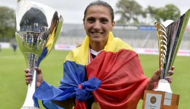 Foto: Constănțeanca Florentina Olar Spânu, medaliată cu bronz  în Danemarca
