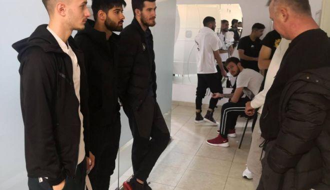 Fotbaliştii Viitorului au efectuat vizita medicală, înaintea plecării spre Turcia - fotbalistii-1547138856.jpg