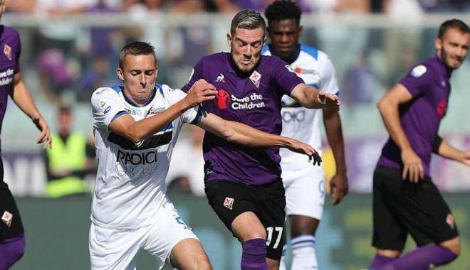 Foto: Egal cu goluri multe, între Fiorentina şi Atalanta, în Cupa Italiei