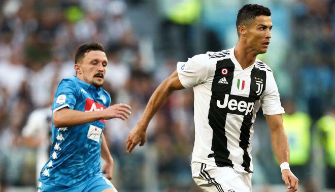 Foto: Juventus Torino câştigă pe terenul celor de la Napoli