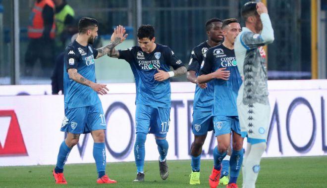 Foto: Surpriză în Italia: Napoli pierde cu Empoli