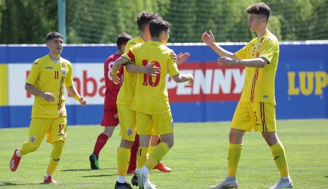 Fotbal / Naţionala U16, victorie în amicalul cu Moldova. Golul doi, marcat de un jucător al Viitorului - fotbaljuniori-1620736833.jpg