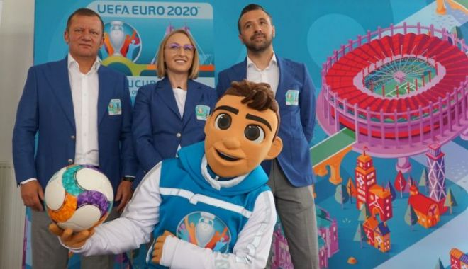 Foto: Skillzy, mascota oficială a EURO 2020, a fost lansată oficial la Bucureşti