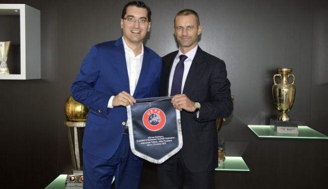 Foto: Răzvan Burleanu, funcţie importantă la UEFA