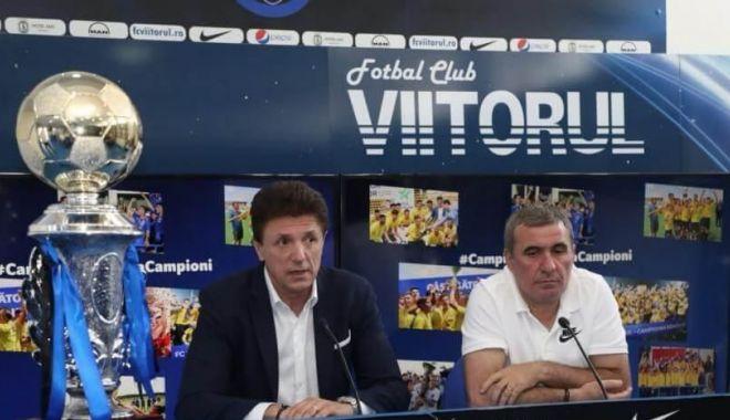 Foto: Revine în fotbal! Gică Popescu este, oficial, noul preşedinte al FC Viitorul