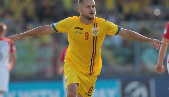 Foto: George Puşcaş, în echipa ideală a EURO 2019