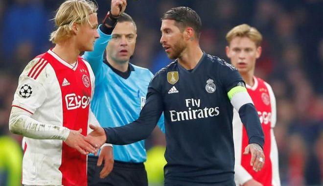 """Foto: Sergio Ramos a fost suspendat de UEFA, după ce a recunoscut că a """"trişat"""""""