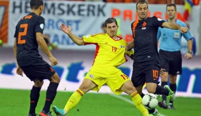 Foto: FOTBAL - CM 2014. România a fost învinsă de Olanda, scor 1-4