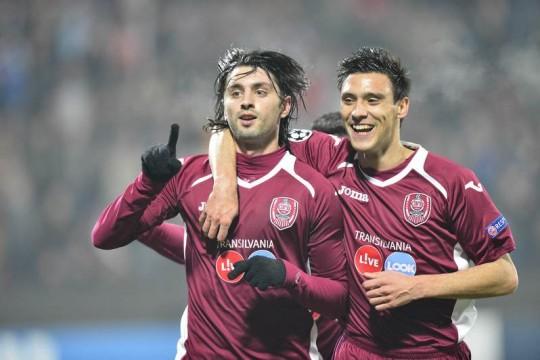 Foto: CFR Cluj s-a calificat în primăvara europeană după 3-1 cu Braga