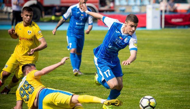 Foto: Liga a II-a la fotbal. SSC Farul, deplasare dificilă la Mioveni