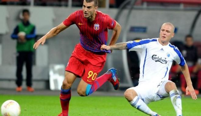 Foto: Fotbal - Liga Europa / Steaua ajunge azi în Norvegia pentru a juca meciul retur cu Molde