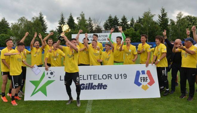 Foto: Din nou campioană U19! FC Viitorul va juca în Youth League