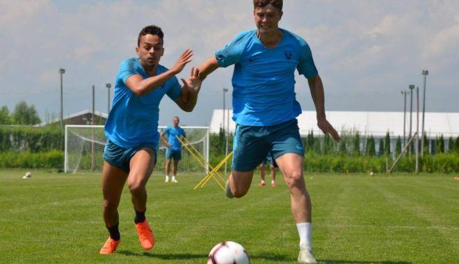Foto: FC Viitorul, amical cu FK Csikszereda Miercurea Ciuc