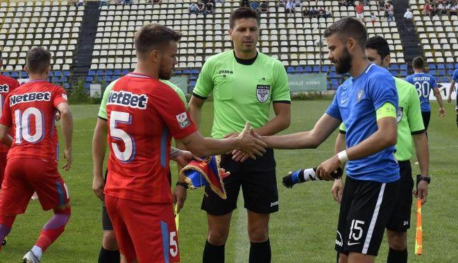 Foto: FC Viitorul, remiză cu goluri multe în amicalul cu FCSB
