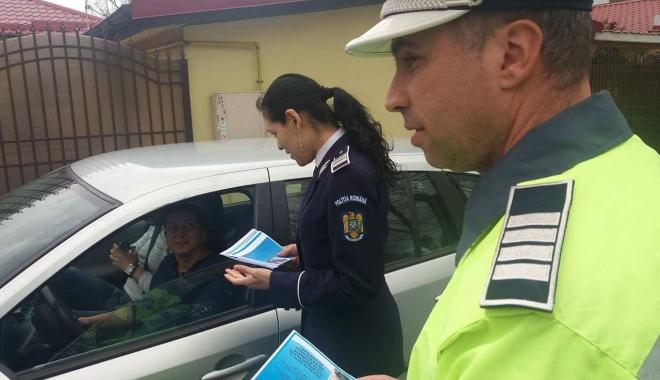 Foto: Şoferi, fiţi cu ochii-n patru! POLIŢIA RUTIERĂ A ÎMPÂNZIT STRĂZILE DIN CONSTANŢA