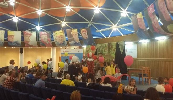 Foto: Ziua Copilului, sărbătorită la Petromidia. Sute de copii, implicați în activități captivante