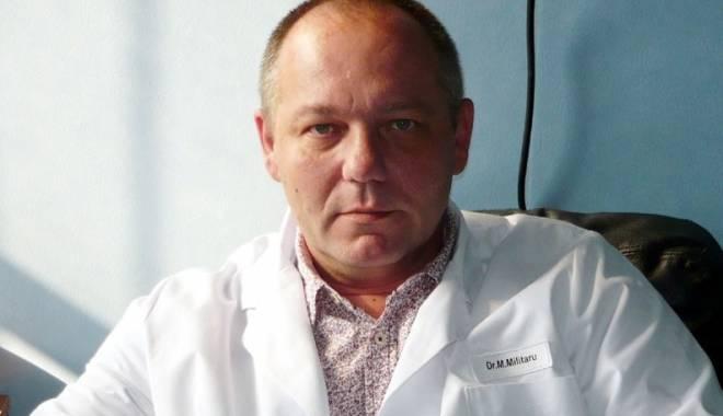 Foto: Medicul Marius Militaru, înapoi la Spitalul Judeţean