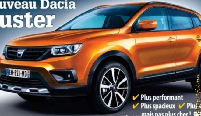 Foto: Premieră istorică pentru Dacia. Cum va arăta noul Duster