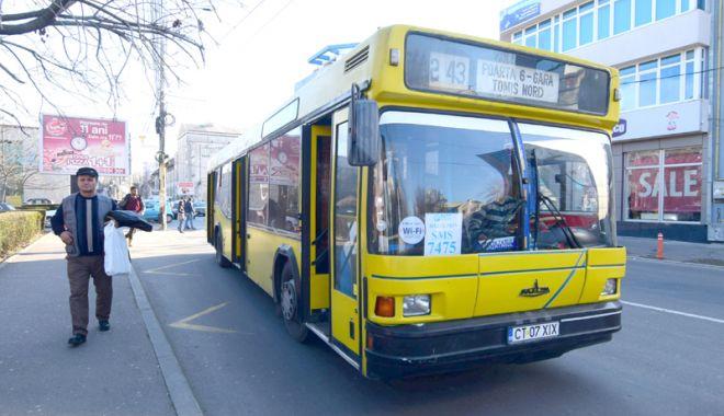 Foto: Traseu deviat pentru autobuzele de pe linia 44, vineri şi sâmbătă